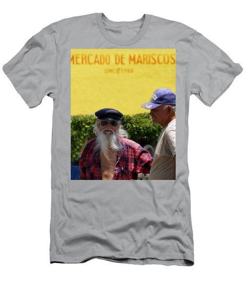 Ensenada Harbour And Fish Market 32 Men's T-Shirt (Athletic Fit)