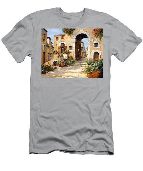 Entrata Al Borgo Men's T-Shirt (Athletic Fit)