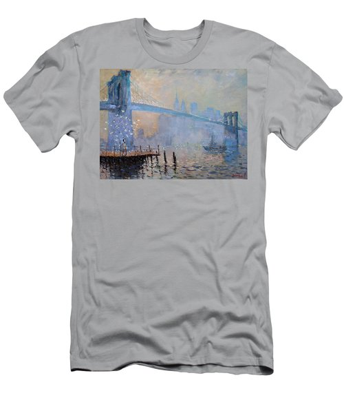 Erbora And The Seagulls Men's T-Shirt (Athletic Fit)