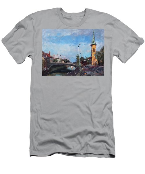 Erie Canal In Lockport Men's T-Shirt (Athletic Fit)