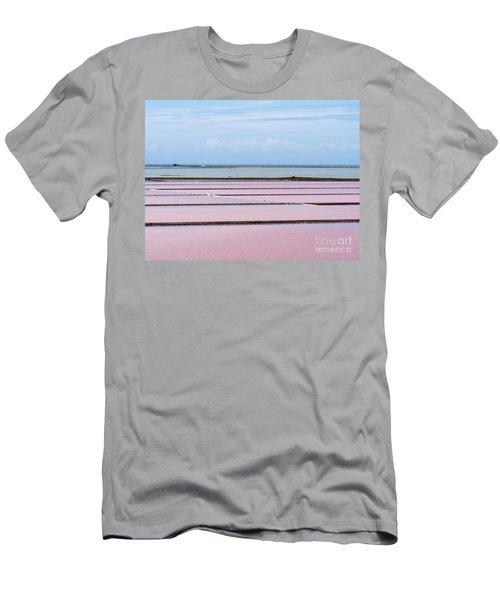 Evaporation Ponds Of Saline Refinery Saltworks Men's T-Shirt (Athletic Fit)