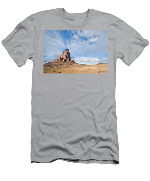 Evening Light On Agathla Peak Men's T-Shirt (Athletic Fit)