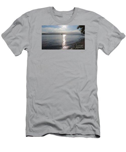 Evening Sunset Men's T-Shirt (Athletic Fit)