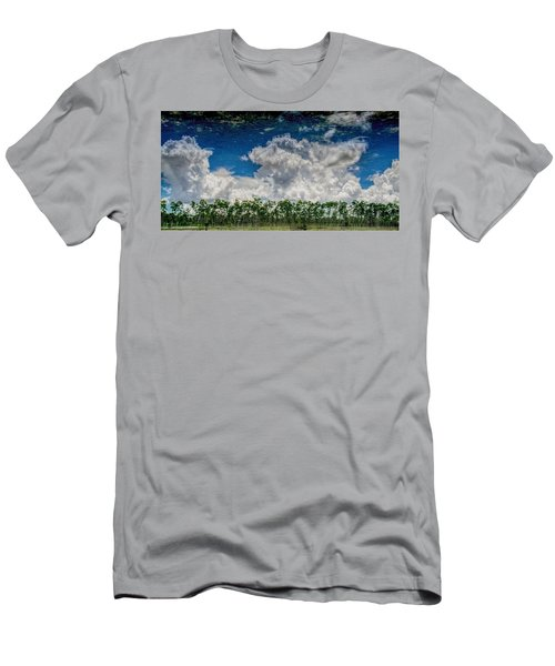 Reflected Everglades 0203 Men's T-Shirt (Athletic Fit)