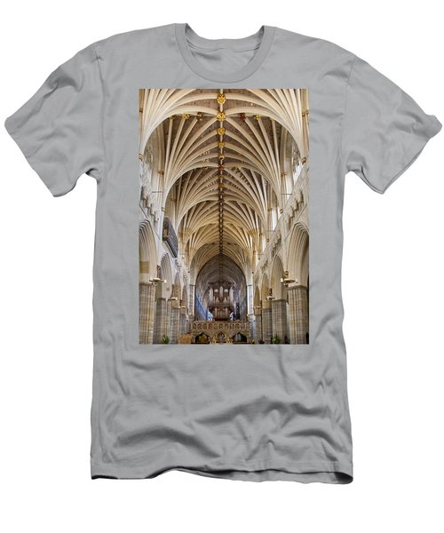 Exeter Cathedral And Organ Men's T-Shirt (Athletic Fit)