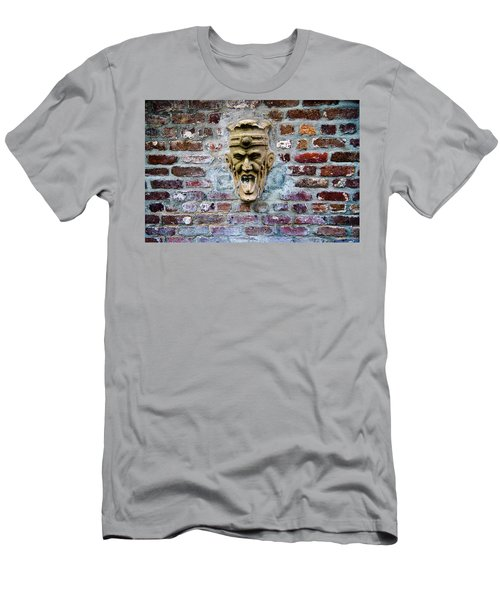 Face Fountain In Pirates Courtyard Men's T-Shirt (Athletic Fit)