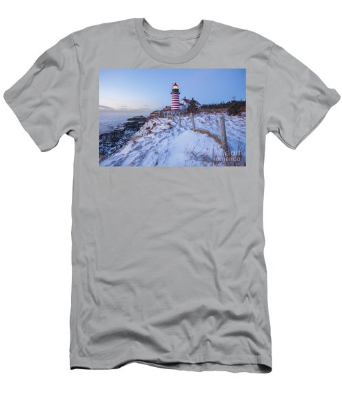 Facing East  Men's T-Shirt (Athletic Fit)
