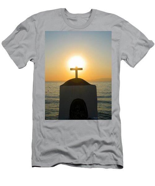 Men's T-Shirt (Slim Fit) featuring the photograph Faith by Leena Pekkalainen