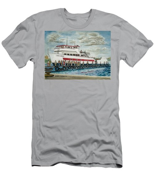 Fajardo Ferry From Vieques Puerto Rico Men's T-Shirt (Athletic Fit)