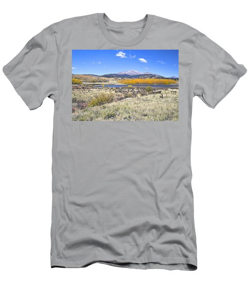 Fall Colors Fairplay Colorado Men's T-Shirt (Athletic Fit)