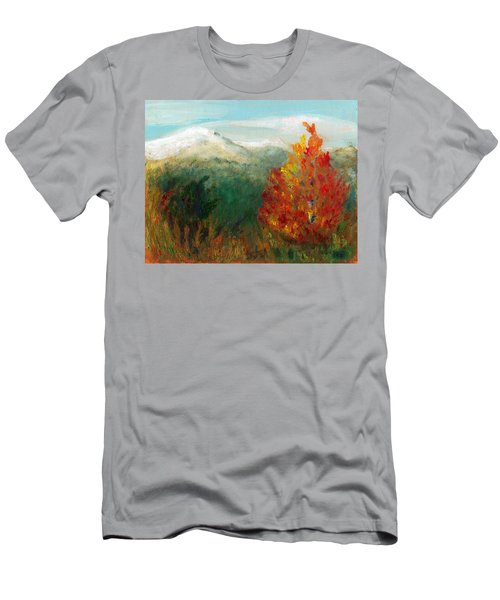 Fall Day Too Men's T-Shirt (Slim Fit) by C Sitton