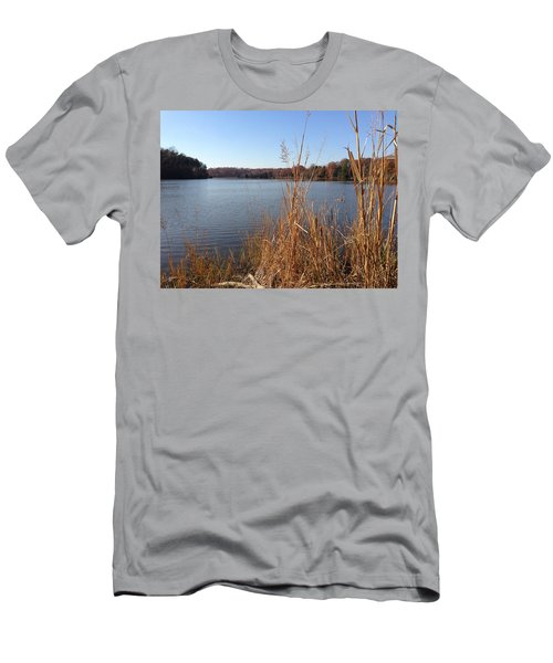 Fall On The Creek Men's T-Shirt (Athletic Fit)