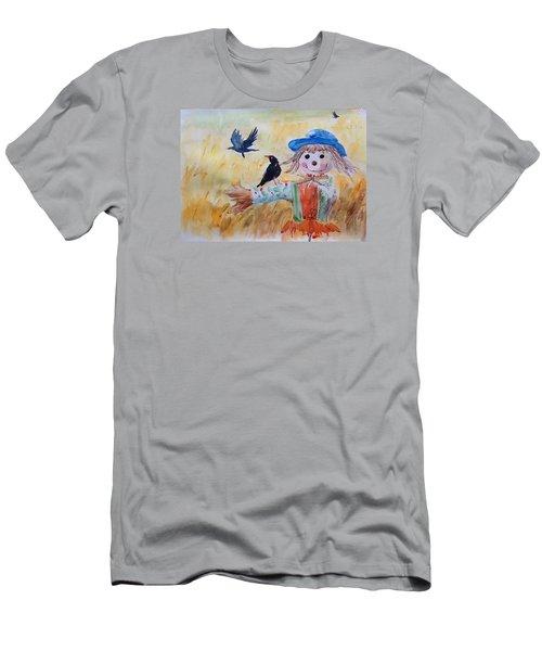 Fall Smile Men's T-Shirt (Slim Fit) by Jieming Wang
