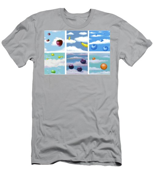 Falling Fruit Group Men's T-Shirt (Athletic Fit)