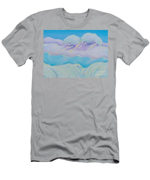 Fantasy Snowscape Men's T-Shirt (Athletic Fit)