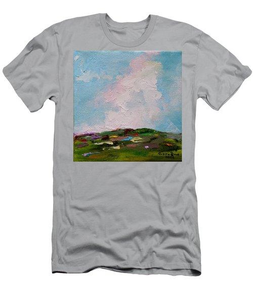 Farmland Iv Men's T-Shirt (Slim Fit) by Judith Rhue