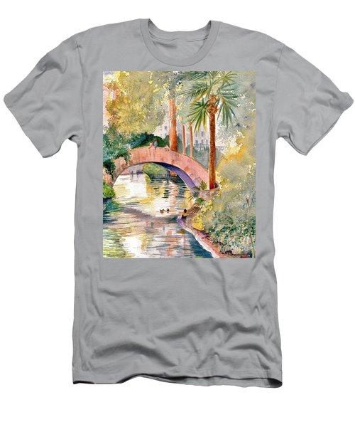 Feeding The Ducks Men's T-Shirt (Athletic Fit)