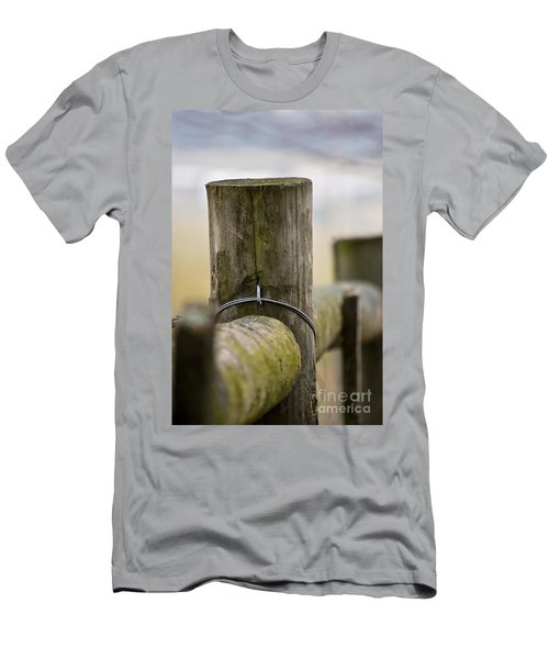 Fence Post Men's T-Shirt (Athletic Fit)