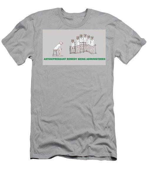 Feral Coots Alternative Medication II Men's T-Shirt (Athletic Fit)