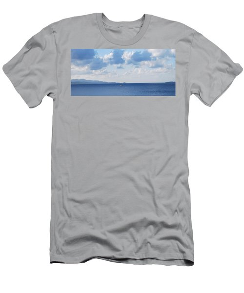 Ferry On Time Men's T-Shirt (Athletic Fit)