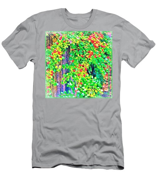 Festive Berries #floral #landscape Men's T-Shirt (Athletic Fit)