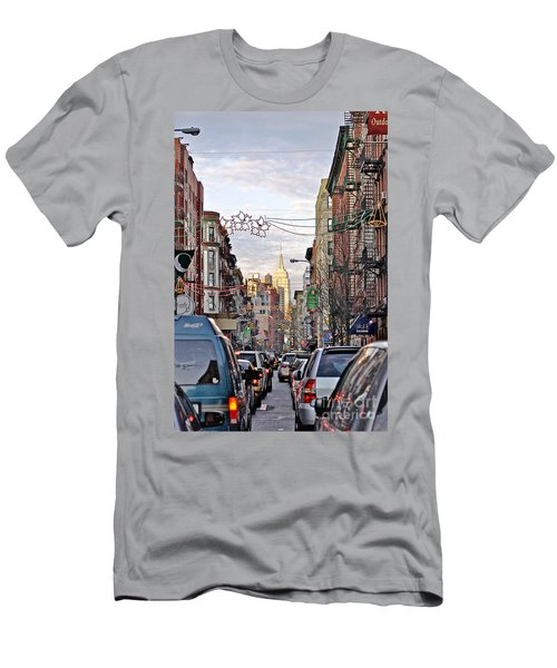 Festive Nyc Men's T-Shirt (Athletic Fit)