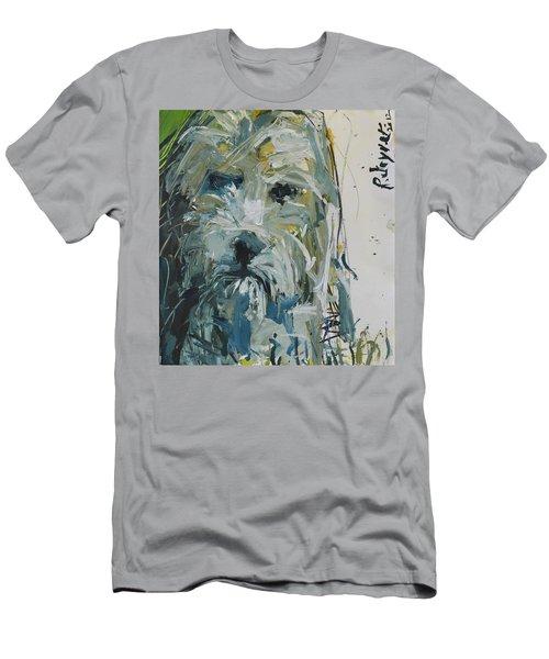 Fine Art Dog Print Men's T-Shirt (Athletic Fit)