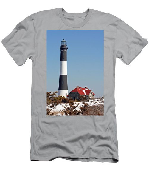 Fire Island Snow Men's T-Shirt (Athletic Fit)