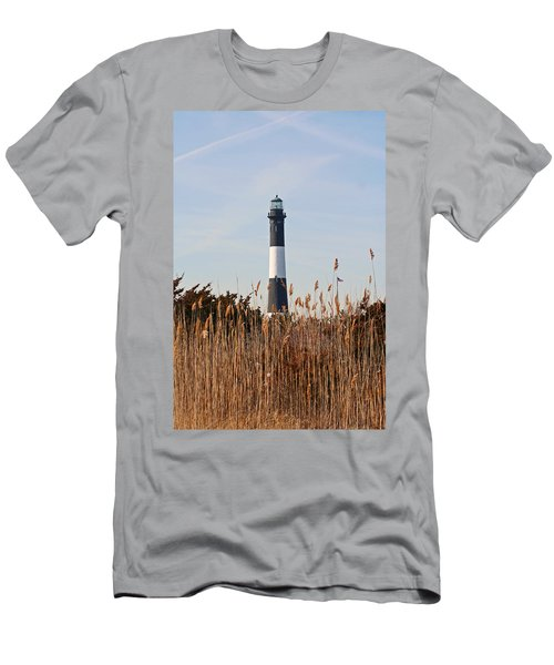 Fire Island Tower Men's T-Shirt (Athletic Fit)