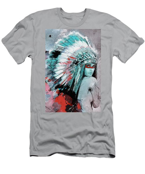 First Nations 005 C Men's T-Shirt (Athletic Fit)