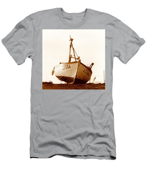 Fishing Boat Men's T-Shirt (Slim Fit) by Peter Mooyman
