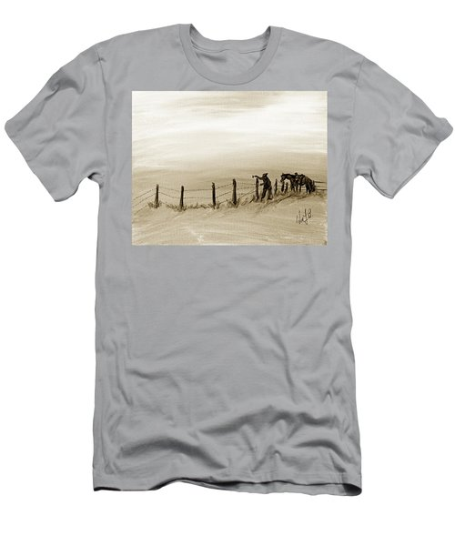 Fix On The Prairie Men's T-Shirt (Athletic Fit)