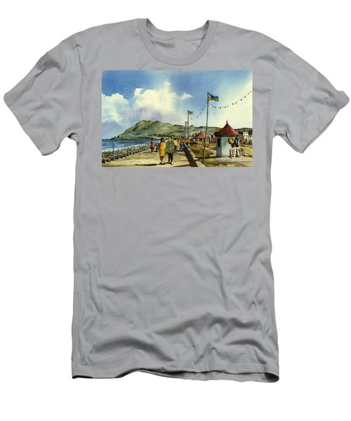 As I Walk Along The Promenade With An Independant Air  ....... Men's T-Shirt (Athletic Fit)
