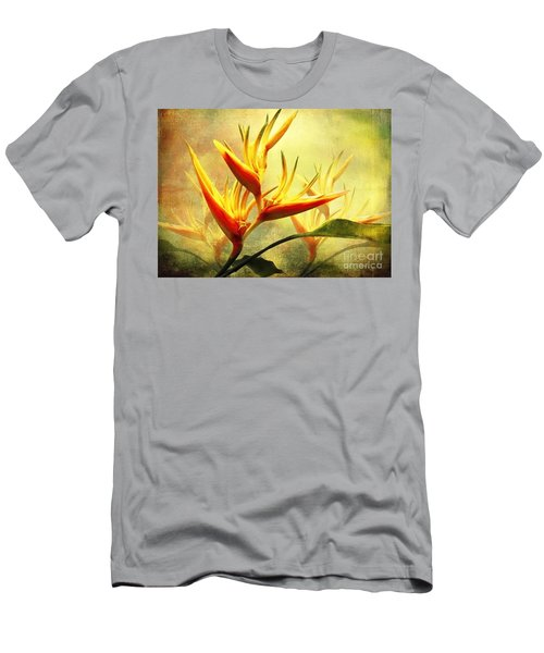 Flames Of Paradise Men's T-Shirt (Athletic Fit)