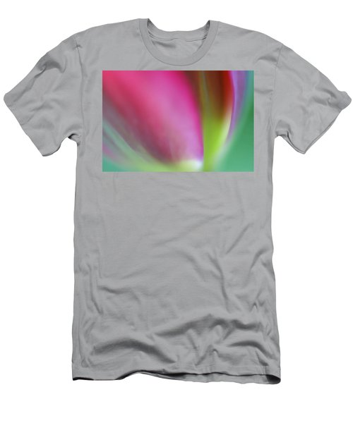 Flaming Tulip Men's T-Shirt (Athletic Fit)