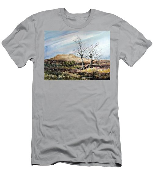 Flat Top Men's T-Shirt (Athletic Fit)