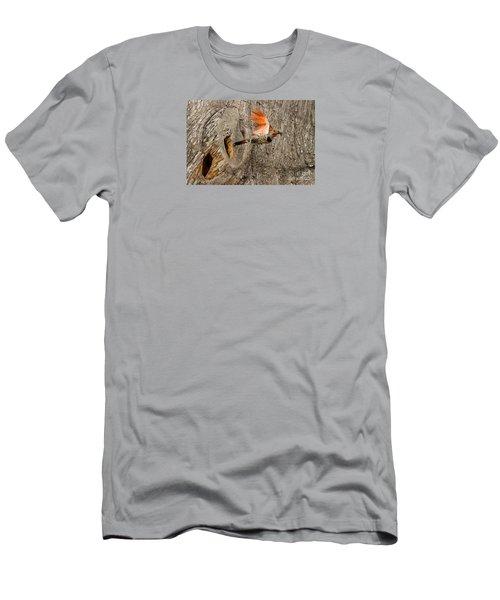 Flicker Flight Men's T-Shirt (Slim Fit) by Alice Cahill