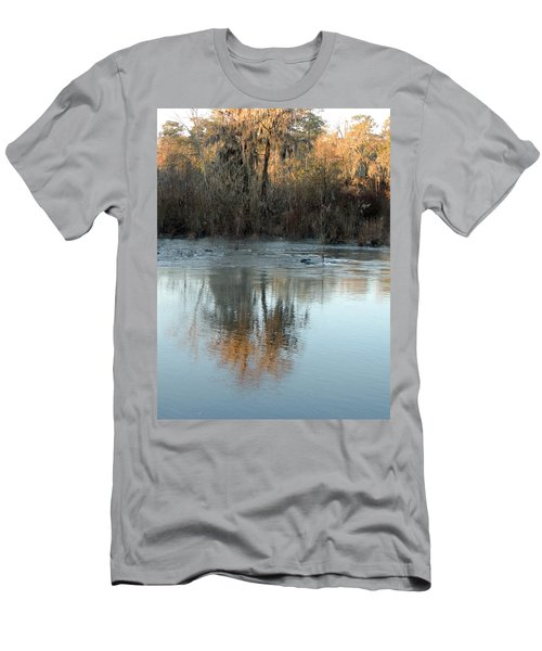 Men's T-Shirt (Slim Fit) featuring the photograph Flint River 17 by Kim Pate