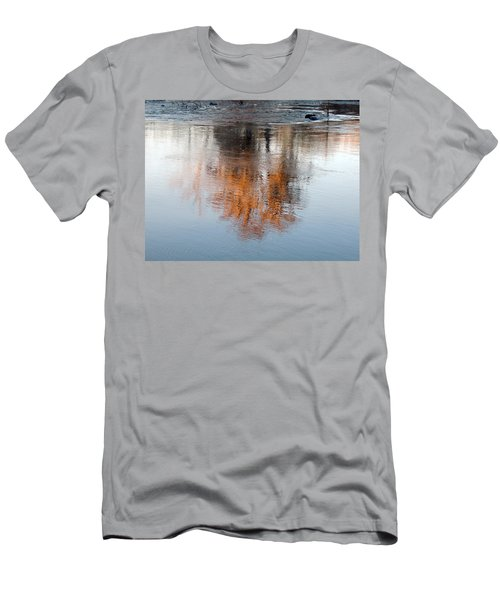 Men's T-Shirt (Slim Fit) featuring the photograph Flint River 22 by Kim Pate