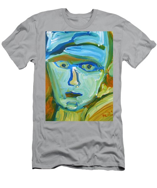 Floating Head Men's T-Shirt (Athletic Fit)