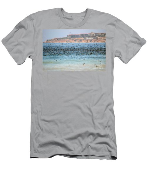 Flocking At Terranea Men's T-Shirt (Athletic Fit)