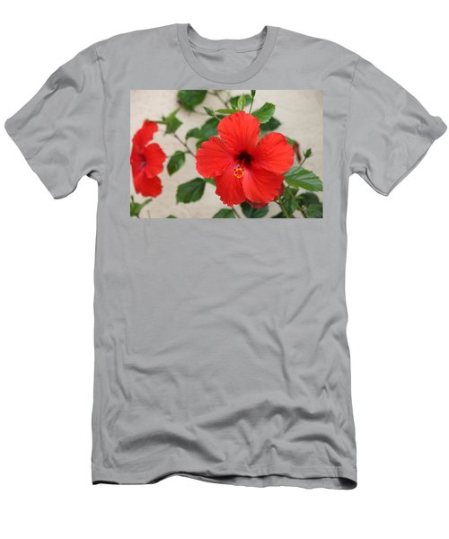 Floral Beauty  Men's T-Shirt (Athletic Fit)