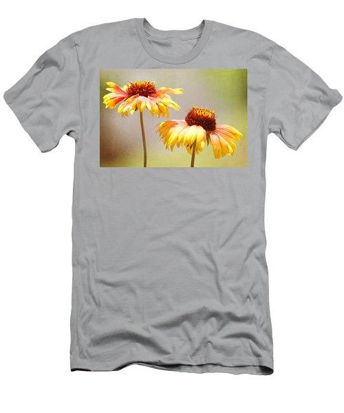 Floral Sunshine Men's T-Shirt (Athletic Fit)