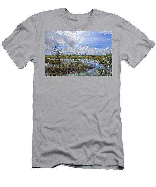Florida Everglades 0173 Men's T-Shirt (Athletic Fit)