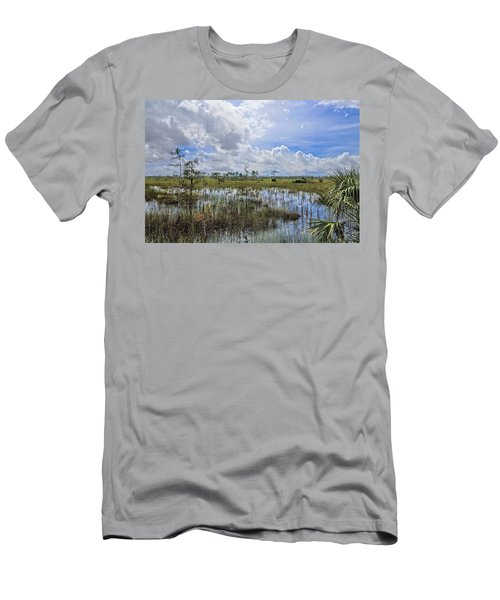 Florida Everglades 0173 Men's T-Shirt (Athletic Fit)