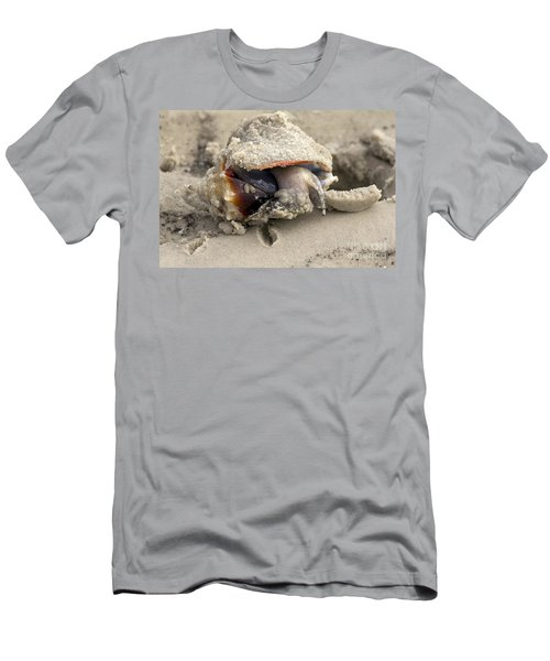 Men's T-Shirt (Slim Fit) featuring the photograph Florida Fighting Conch by Meg Rousher