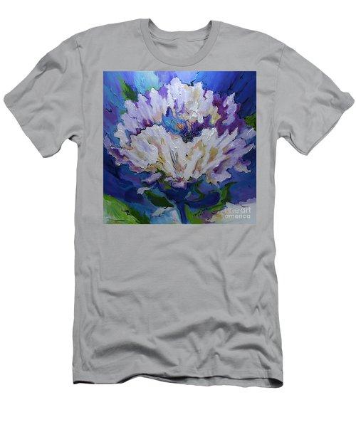 Flower For A Friend Men's T-Shirt (Athletic Fit)