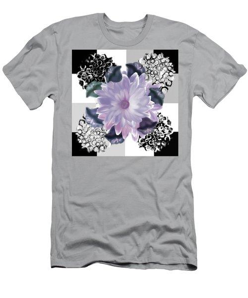 Flower Spreeze Men's T-Shirt (Slim Fit) by Christine Fournier