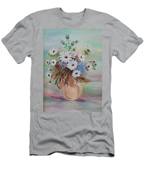 Flowers For Mom Men's T-Shirt (Slim Fit) by Christy Saunders Church