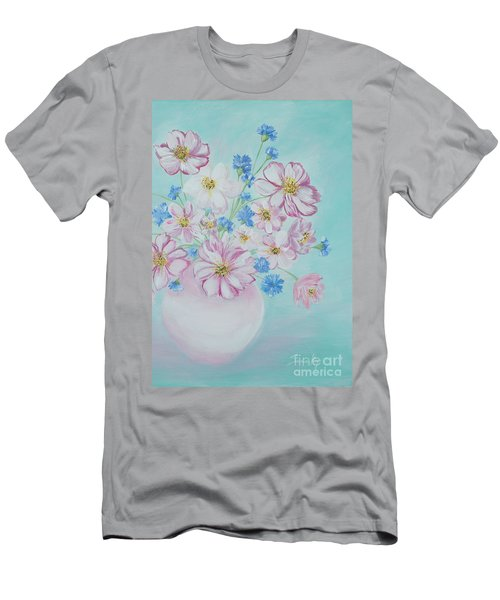 Flowers In A Vase. Inspirations Collection Men's T-Shirt (Athletic Fit)